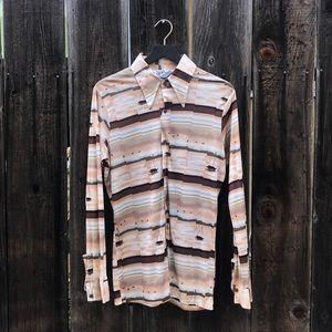 The Gap Vintage 70s Button Down Shirt